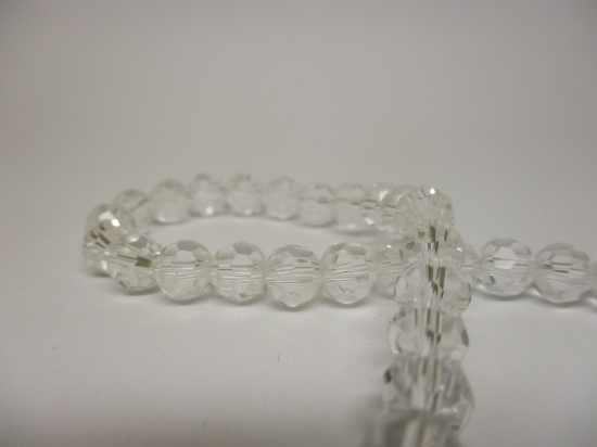 Crystal Round 6mm Clear +/-90pcs