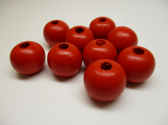 PASTEL WOOD 10MM 125G RED