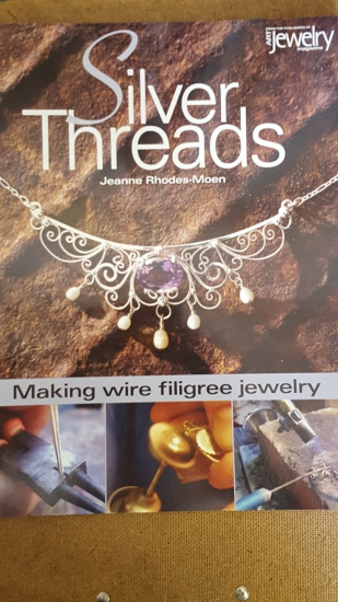 BOOK; SILVER THREADS (ART JEWELRY MAGAZINE)