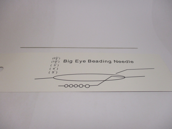 Big Eye Beading Needle 1pcs 12.8cm