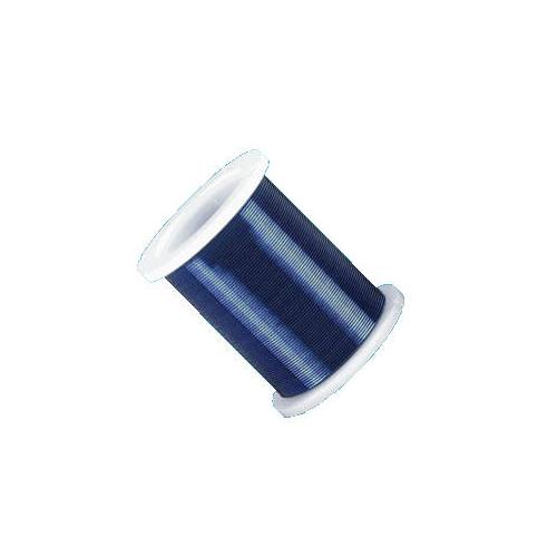 WIRE 0.45MM/TR.BLUE 18M