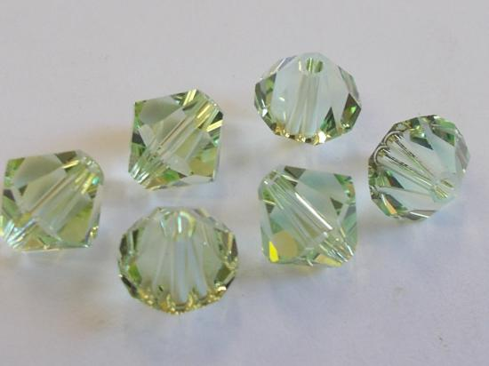 SW 8MM BIC/CHRYSOLITE 6PCS