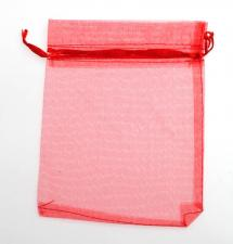 ORGANZA BAG X.LRG 10P RED