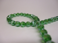 Crystal Round 6mm Green AB +/-90pcs