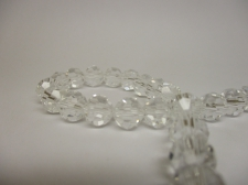 Crystal Round 8mm Clear  +/-70pcs
