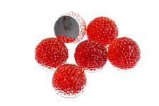 RHINE 2TONE BALL 15MM RED 10PC