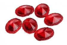 RHINE 2 OVL 13.5MM RED 10PC
