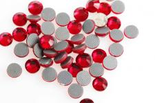 HOTFIX CRYS. 5MM RED 120PC