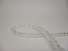 Crystal Round 4mm Clear +/-100pcs