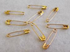Safetypin 20mm Brass +/-1440pcs