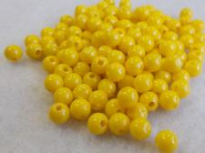 PLAS 6MM RND/YELLOW    2500PCS