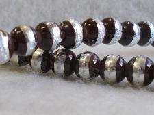 Silver Strip 6mm Brown +/-144pcs