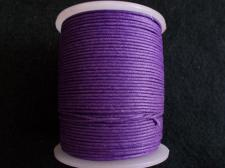 Wax Cord 1.0mm Purple 100m