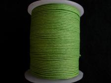 Wax Cord 1.0mm Florescnt Green 100m