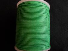 Wax Cord 1.5mm Parrot Green 100m