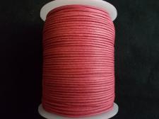 Wax Cord 1.5mm Fuschia 100m