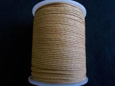 Wax Cord 1.5mm Camel 100m