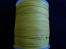 Wax Cord 1.5mm Lemon 100m
