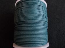 Wax Cord 1.5mm Fern Green 100m