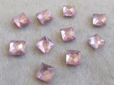 HotFix SQR 6mm 10pcs Lt Pink