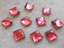 HotFix SQR 10mm 10pcs Pink