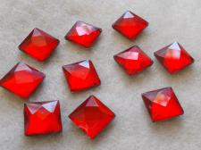 HotFix SQR 10mm 10pcs Red