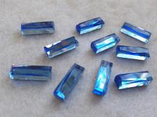 HotFix Rectangle 5x15mm 10pcs Lt Blue