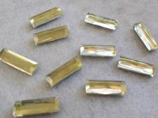 HotFix Rectangle 5x15mm 10pcs Yellow