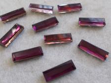 HotFix Rectangle 5x15mm 10pcs Purple