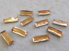 HotFix Rectangle 5x15mm 10pcs Gold