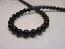 Black Agate 8mm +/-48pcs