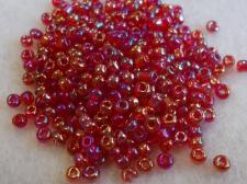 Seed Bead 8/0 Lustre Red (405D) +/-450g