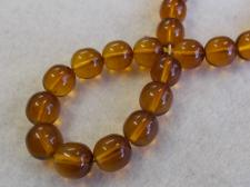 Czech Glass Bead 10mm Gold+/-50Pcs
