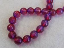 Czech Glass Bead 8mm Purple+/-75Pcs
