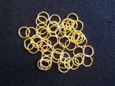 Jump Ring 10mm Brass 200pcs
