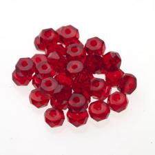 Czech Fire Polish Beads 100P 3X6mm Disc - 90080