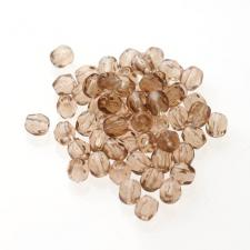 Czech Fire Polish Beads 100P 4mm Round - 10220