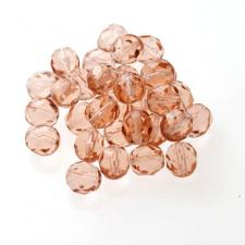 Czech Fire Polish Beads 100P 8mm Round - 70120