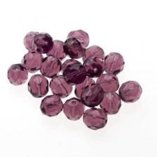 Czech Fire Polish Beads 100P 8mm Round - 20060