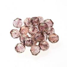 Czech Fire Polish Beads 100P 8mm Round - 00030 - 15495