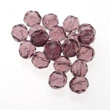 Czech Fire Polish Beads 100P 8mm Round - 20040