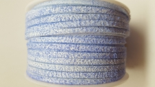 Flat Suede Cord +/-24m Lt Blue