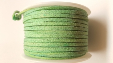 Flat Suede Cord +/-24m Green