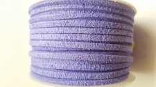 Flat Suede Cord +/-24m Purple