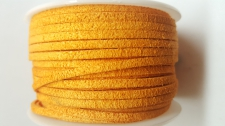 Flat Suede Cord +/-24m Orange