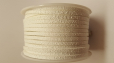 Flat Suede Cord +/-24m White
