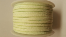 Flat Suede Cord +/-24m Lime