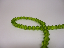 Crystal BIC 4mm Avo Green +/-100pcs