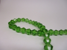 Crystal BIC 6mm Green +/-40pcs