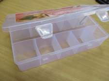 STORAGE BOXES (L) 275X165X55MM